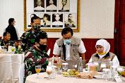 Pangkogabwilhan II Tinjau RS Darurat Covid-19 di Surabaya