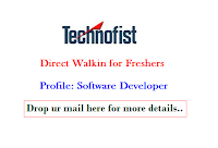 Technofist-walkin-for-freshers