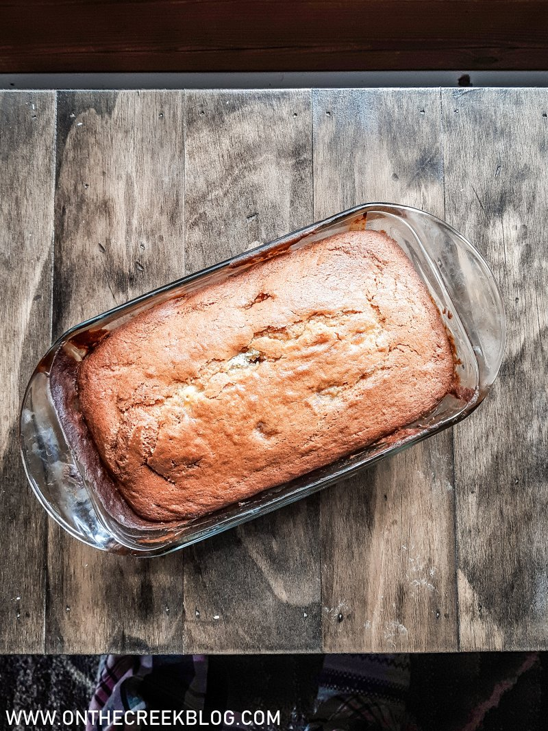 The very best banana bread | On The Creek Blog