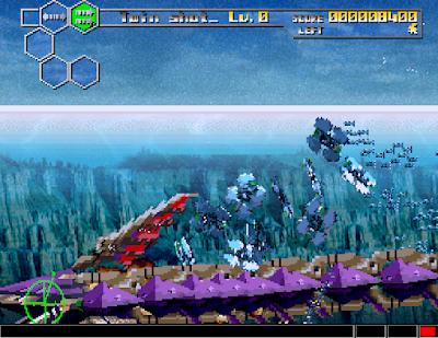 閃電出擊5(雷鳥戰機5、Thunder Force V),次世代主機熱門飛機射擊!