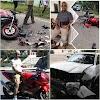 En Dajabón Hombre a bordo de moderna motocicleta  impacta camioneta y muere