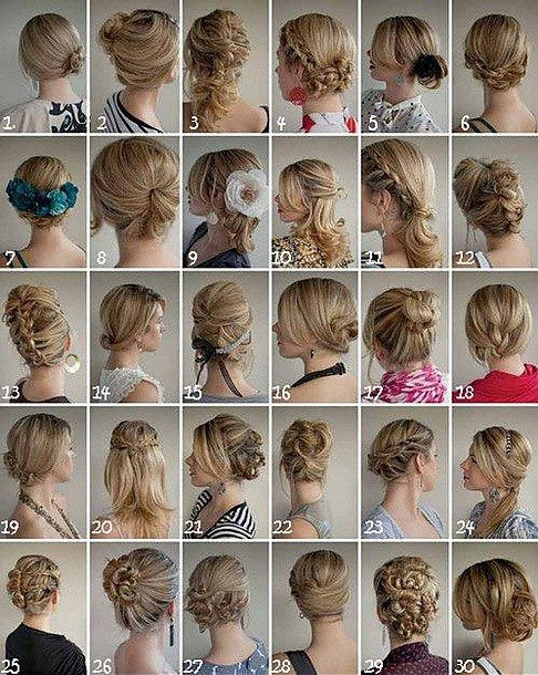 different kind of hair style brud bal och festkl 228 nningar 30 olika h 229 rupps 228 ttningar 7130 | frisyrer