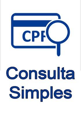 CONSULTA CPF SIMPLES