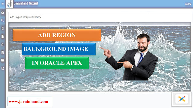 Add Region Background Image in Oracle APEX
