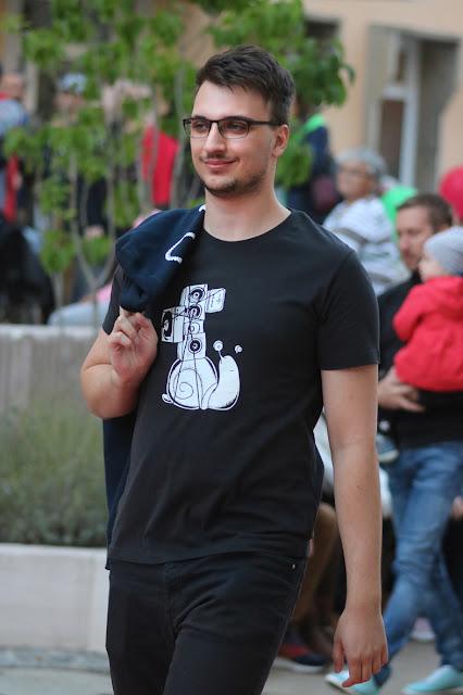 """T-Shirt mit Musik-Motiv """"Soundschnecke"""""""