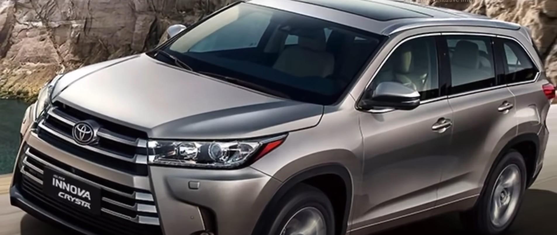 Tampilan Depan Toyota Innova Crysta
