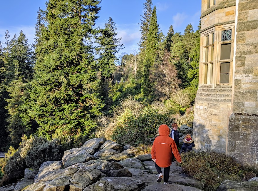 Christmas & Santa at Cragside Review  - Winter Walks