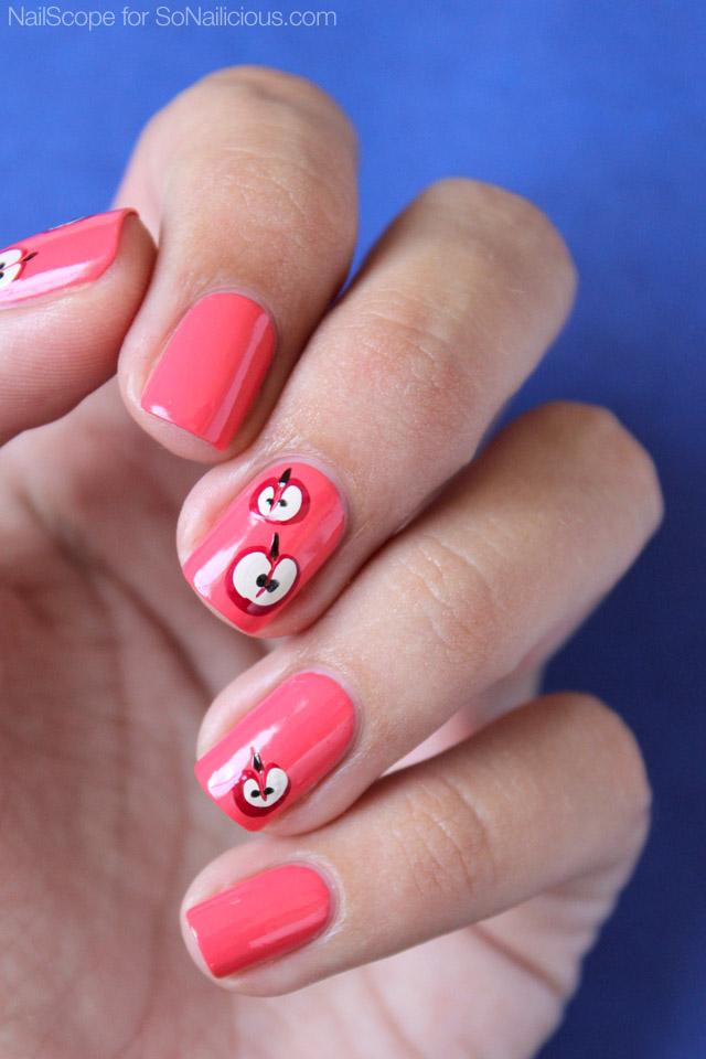 Makeup Beauty Everyday Tutorial Autumn Apple Nails