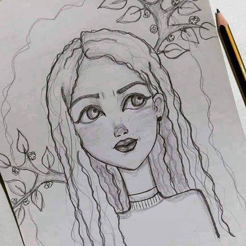 رسومات أنمي للرسامة روان نمر