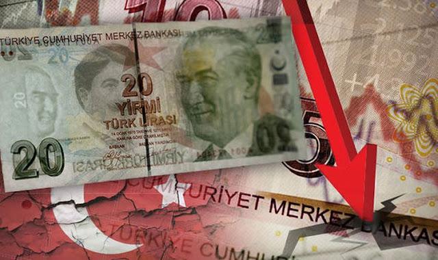 Ο Ερντογάν καταστρέφει την τουρκική λίρα
