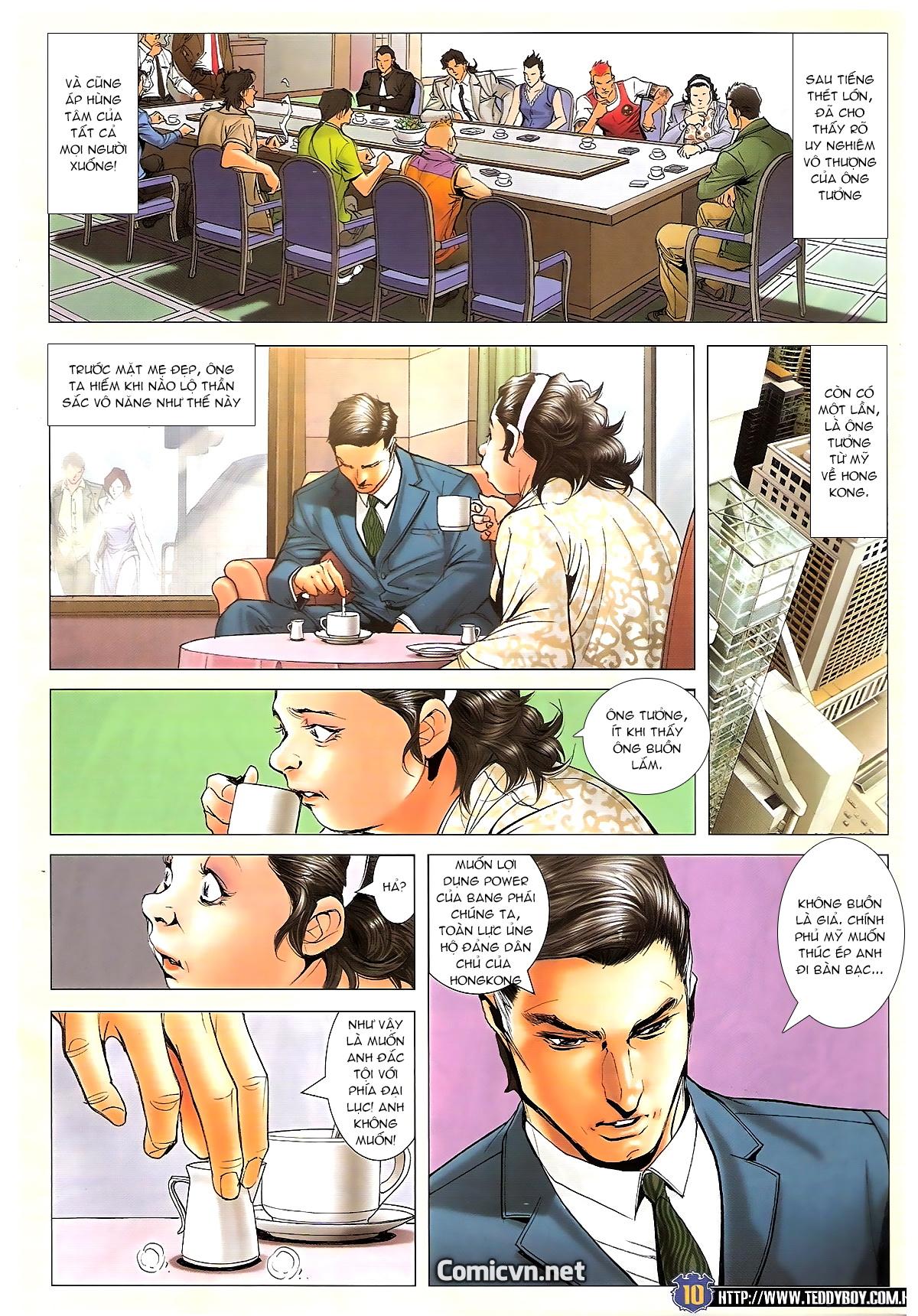 Người Trong Giang Hồ chapter 1642: anh hùng khí đoản trang 9