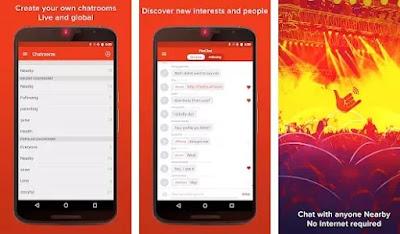 aplikasi chatting gratis tanpa koneksi internet di Android-2