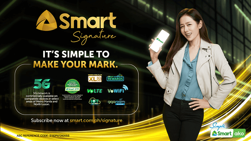 The new Smart Signature 5G-ready plans with Son Ye-jin as its brand ambassador