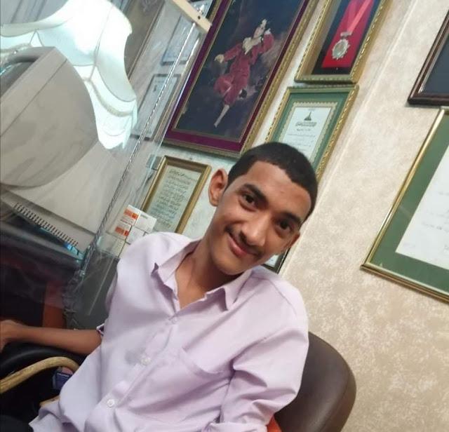 عبدالرحمن أحمد الديب الوصلي من ذوى القدرات الخاصه