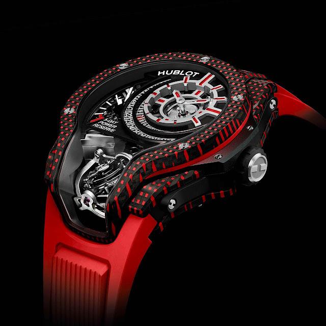 Hublot MP-09 Tourbillon Bi-Axis 3D Carbon