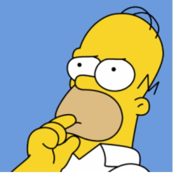 Гомер симпсон с обезьяной в голове картинки