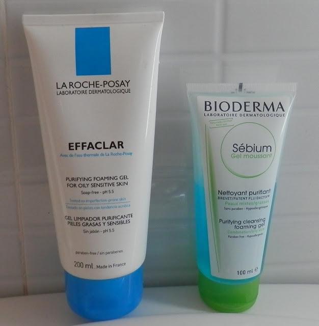 Opinión Effaclar gel purificante vs Sebium gel limpiador