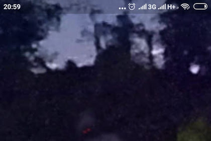 Penampakan Pocong Dukuh Kali Bener di Google Maps