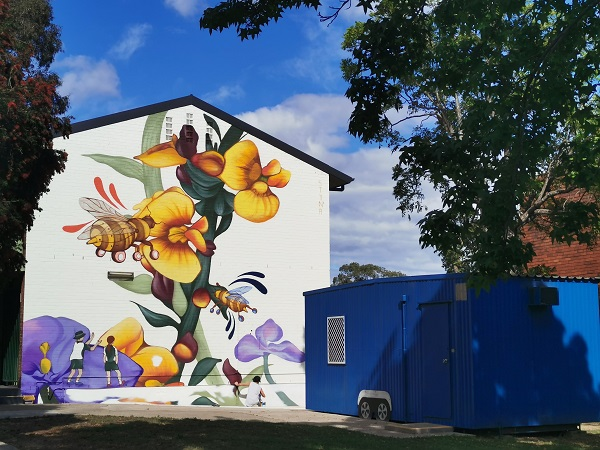 Street Art in Ingleburn by Stynabyna