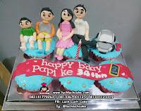 Cupcake Ulang Tahun Tema Keluarga Besar