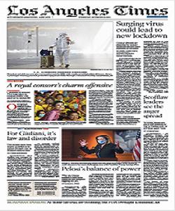 Los Angeles Times Magazine 18 November 2020 | Los Angeles News | Free PDF Download