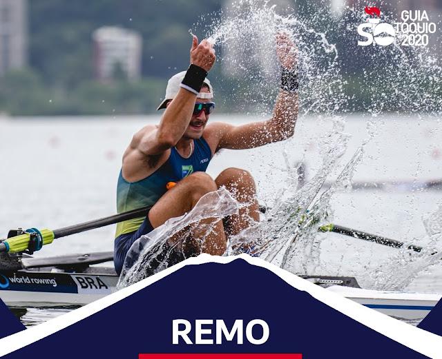 Como funciona o remo em Olimpíadas