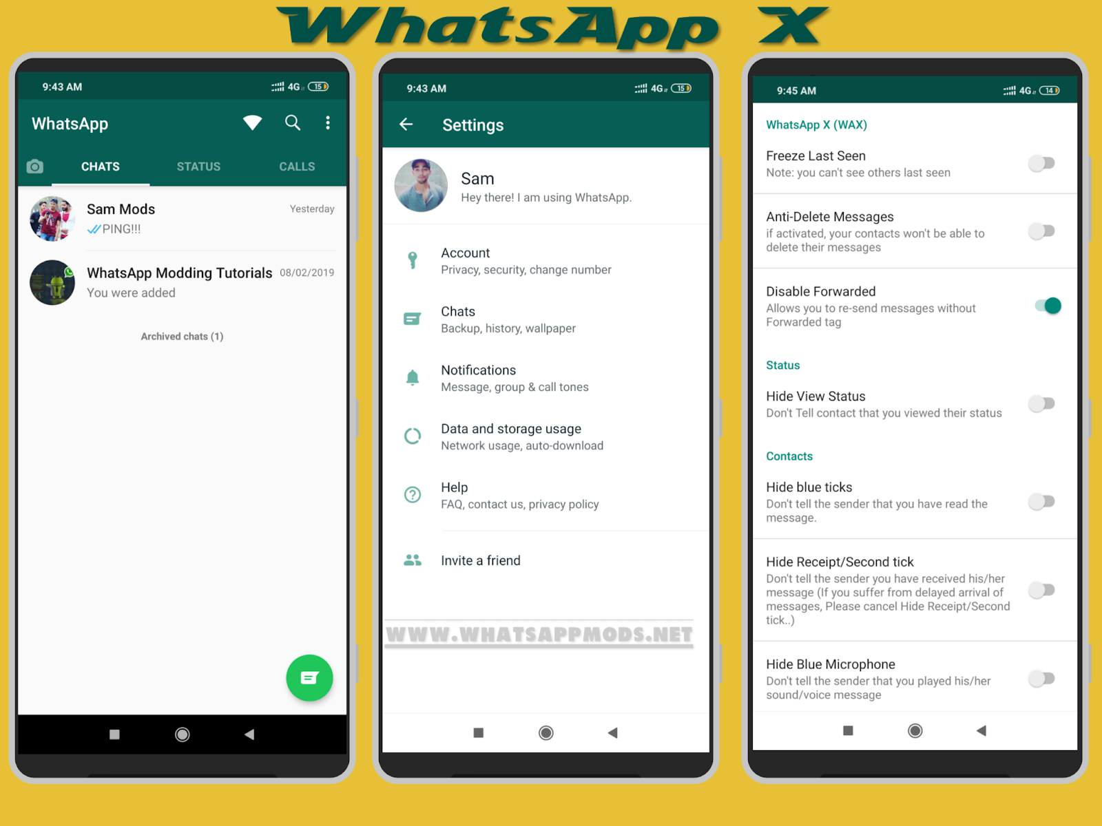 Whatsapp X V0 9 8 4 20l Latest Version Apk Download Now