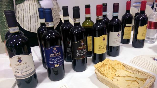 Informações sobre a Cantina Contucci em Montepulciano