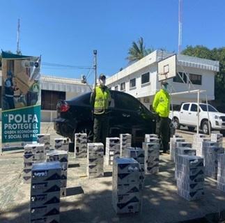 hoyennoticia.com, Golpe al contrabando de cigarrillos en Valledupar