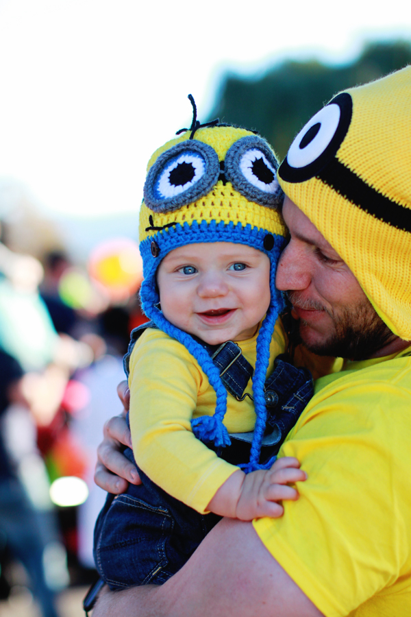 Minion baby Halloween costume