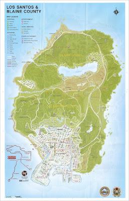 خريطة جراند 5