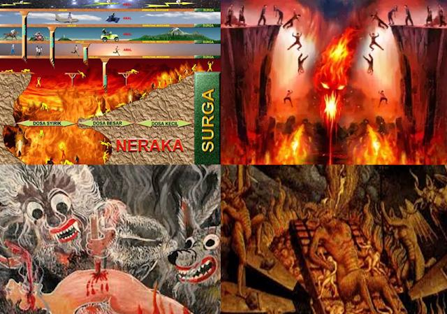 MENGERIKAN! Gambaran Siksa Neraka Dari 7 Agama Di Dunia