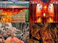 MENGERIKAN! 19 Gambaran Neraka Dari 7 Agama Di Dunia