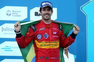 Lucas di Grassi: pódio em todas as corridas da temporada