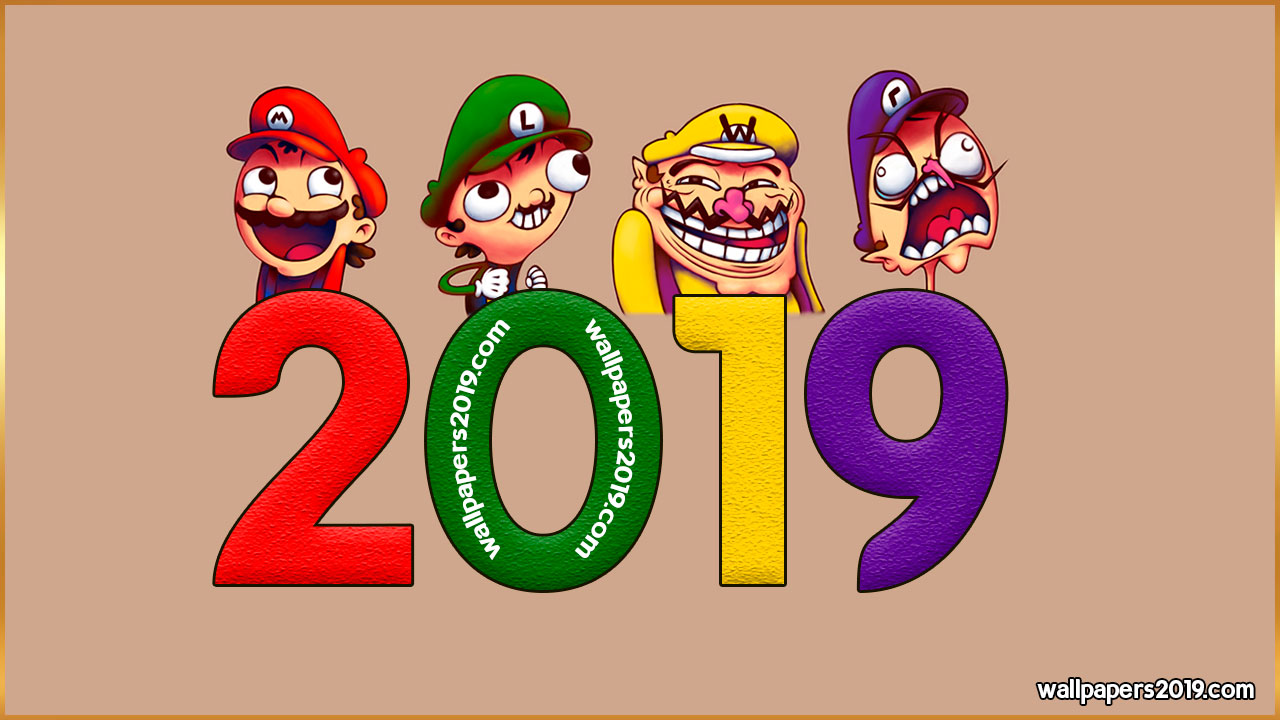 2019 wallpaper meme