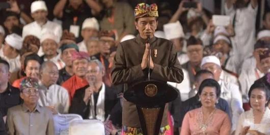 Jokowi: Pemilu Itu Bukan Perang