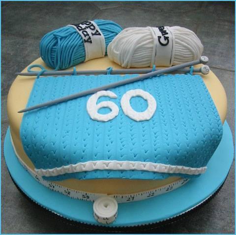 Birthday Cakes For You Knitting Cake
