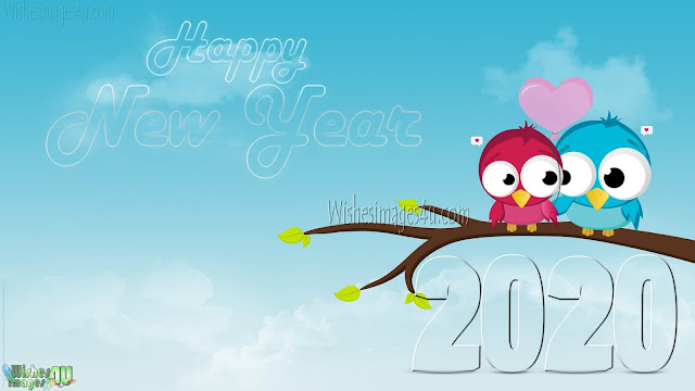 Happy New Year 2020 Love Wishes Images