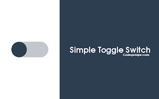 Cara Membuat Simple Toggle Switch Button