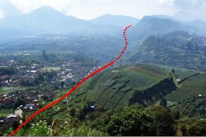 Patahan Lembang, si Cantik Yang Bisa Meluluhlantakkan Bandung
