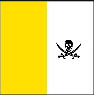 Vatican pirate flag