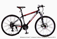 Sepeda Gunung Pacific Tranzline 600 Aloi 24 Speed Fork Lock Out 26 Inci