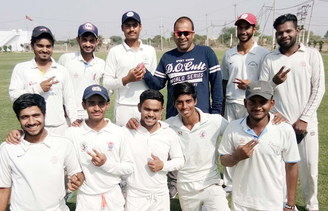 Shuvam Cricket Academy defeats Delight Cricket Club by 193 runs