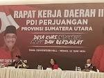 Kader Partai Wajib Baca! Ini Hasil Rakerda II DPD PDIP Sumut