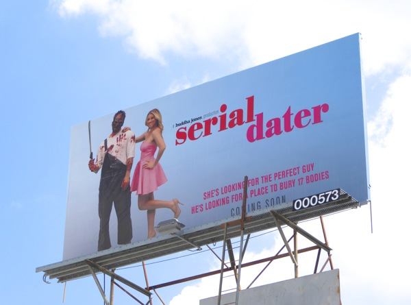 Serial Dater Buddha Jones agency billboard