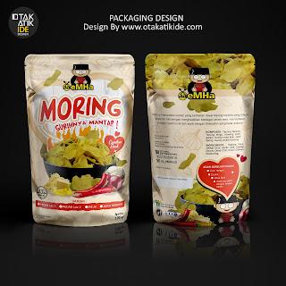 Jasa desain kemasan standing pouch makanan