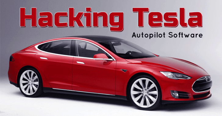 Hackers take Remote Control of Tesla's Brakes and Door locks from 12 Miles Away