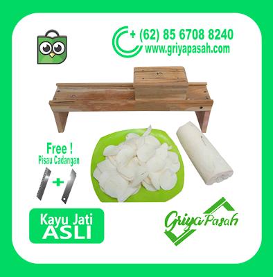 mesin perajang keripik kelapa