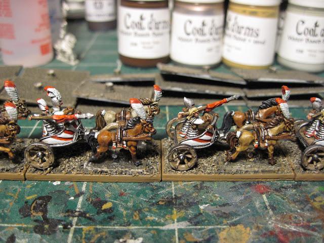 High Elf Chariots