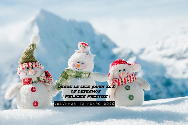 Liga Joven ZGZ: Feliz Navidad y Próspero 2020